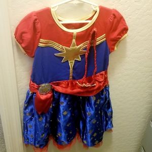 Marvel Wonderwoman Costume Girls 5/6 NWOT